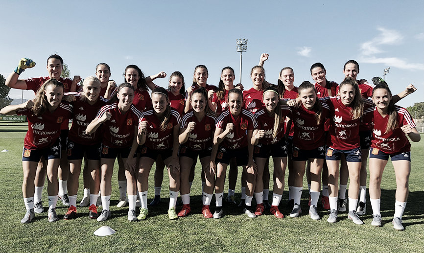 España 2 - 0 Bélgica: importante victoria de la sub-19 femenina para soñar con hacer historia