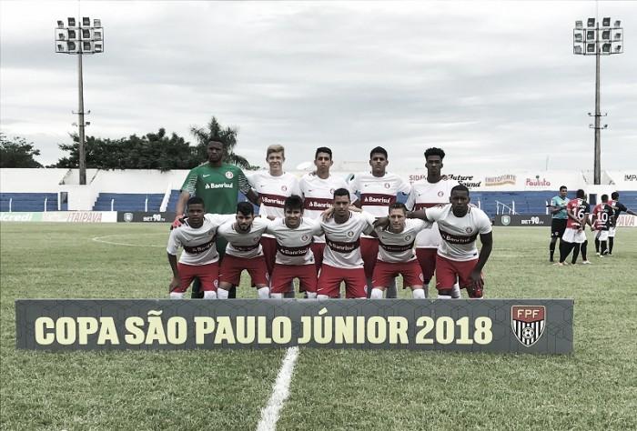 Resultado Osvaldo Cruz-SP x Internacional pela Copa São Paulo de Futebol Júnior (1-6)