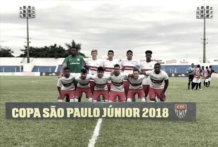 Resultado de Internacional x São Paulo pela Copa São Paulo de Futebol Júnior 2018 (5) 1-1 (6)