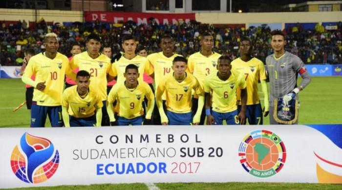 La Selección Ecuatoriana Sub-20 calienta motores