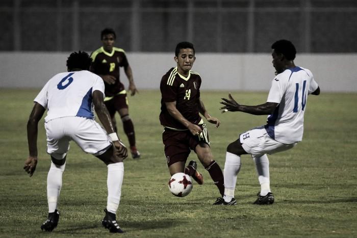 La Vinotinto cerró su gira en Tegucigalpa con dos empates ante Honduras