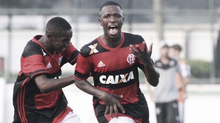 Flamengo vence terceira seguida, goleia Ponte Preta e avança às semifinais da Copa RS Sub20