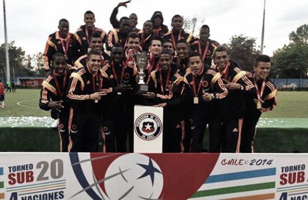 Selección Colombia Sub-20, campeón del '4 Naciones'