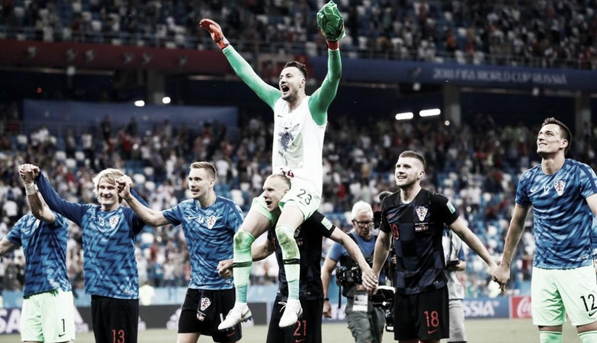 Una noche de arqueros definió la clasificación de Croacia y la eliminación de Dinamarca