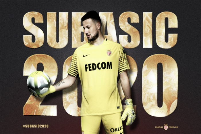 Goleiro Subasic e zagueiro Raggi têm contratos renovados pelo Monaco