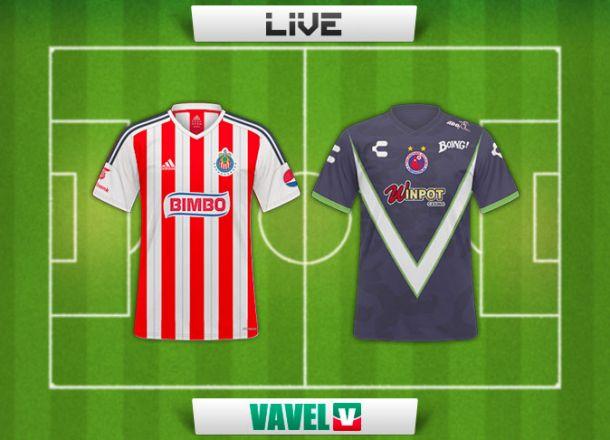 Resultado Chivas - Veracruz en Liga MX 2015 (0-0)
