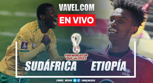 Gol y resumen del Sudáfrica 1-0 Etiopía en Eliminatorias Africanas