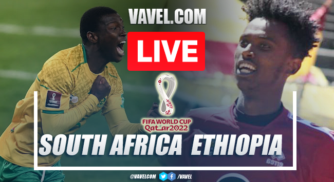 Goal and Highlights: South Africa 1-0 Ethiopia in 2022 World Cup Qualifiers