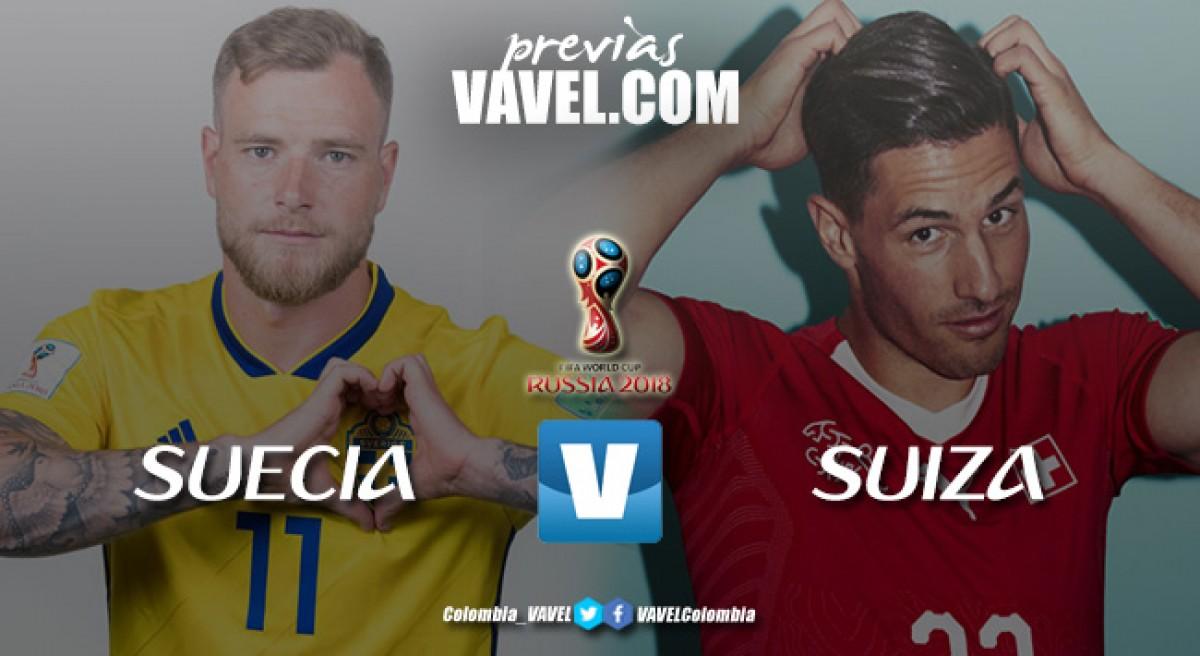Previa Suecia vs Suiza: sin mucho renombre, por un cupo a los cuartos de final