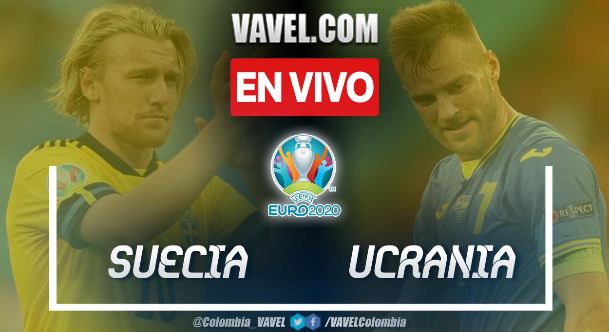 Resumen de Suecia vs Ucrania (1-2) en los octavos de final por Eurocopa 2020