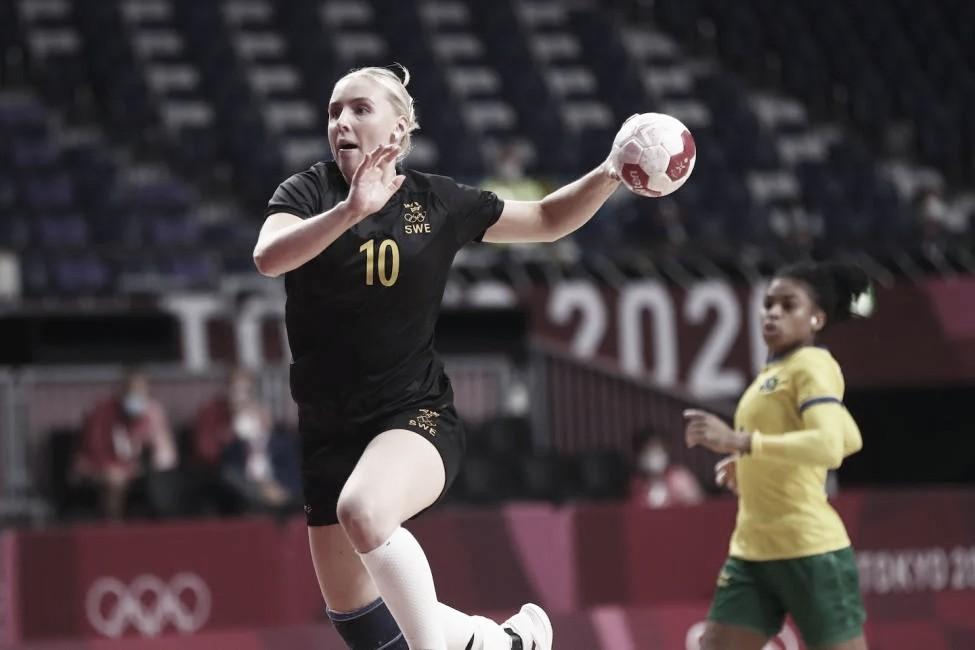 Goals and Highlights Sweden vs South Korea  Women's Handball Tokyo 2020 Olympics (39-30)