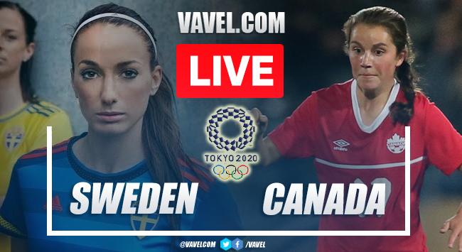 Gols e melhores momentos Suécia 1 (2) x (3) 1 Canadá pelas Olimpíadas de Tóquio