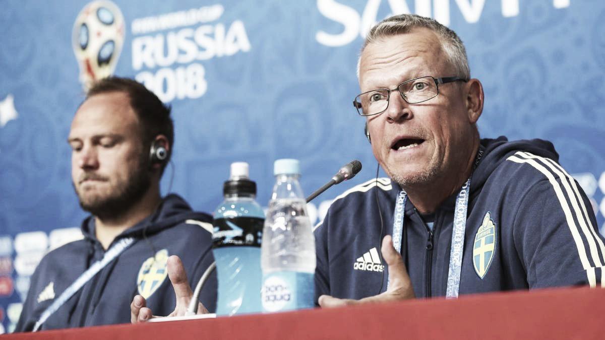 Janne Andersson: ''No tenemos otra cosa más que estar enfocados en el partido''