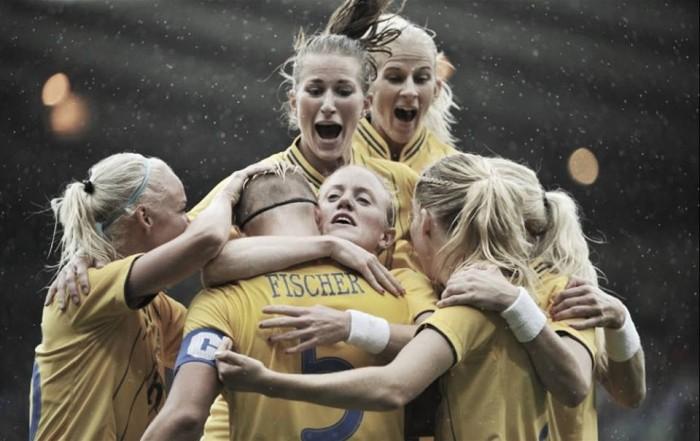 O poder do futebol feminino da Suécia