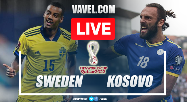 Goals and Highlights: Sweden 3-0 Kosovo in 2022 World Cup Qualifiers