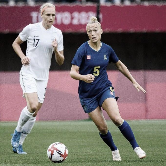 Resumen Suecia 3-1 Japón en Fútbol Femenino por los Juegos Olímpicos 2020