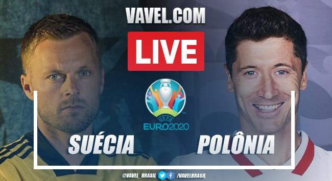 Gols e melhores momentos de Suécia 3x2 Polônia pela Eurocopa