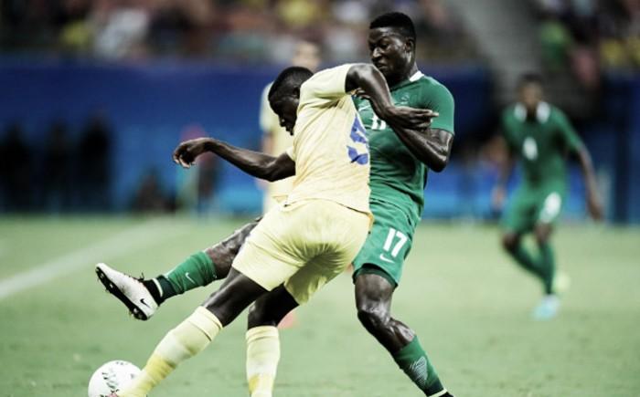 Nigéria controla resultado, bate Suécia e avança às quartas de final no futebol masculino