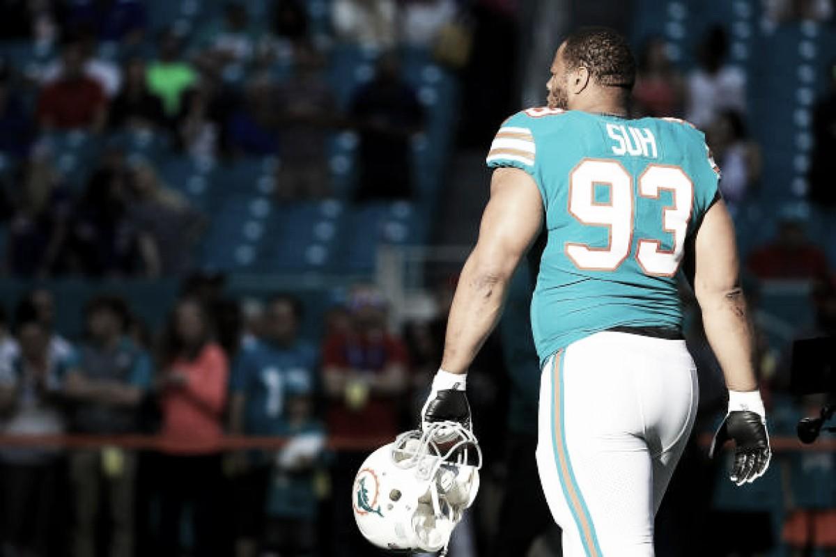Em clima de reformulação total, Miami Dolphins deve dispensar DT Ndamukong Suh