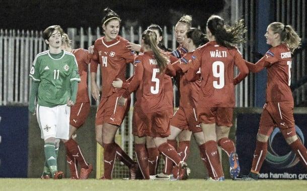 UEFA Women's EURO 2017 Qualifier - Northern Ireland 1-8 Switzerland: Eight is great for super Swiss