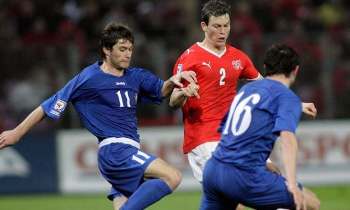 La Svizzera vince con il minimo sforzo: 2-1 alla Moldavia