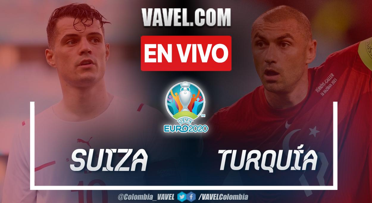 Resumen y goles: Suiza 3-1 Turquía en UEFA Euro 2020
