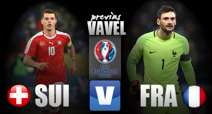 Suíça e França se enfrentam em confronto direto por liderança do Grupo A da Eurocopa