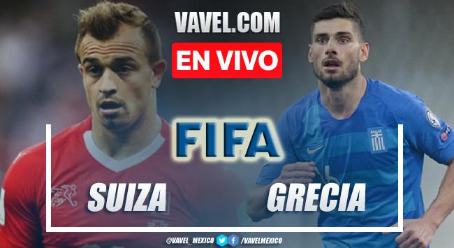 Goles y resumen del Suiza 2-1 Grecia en Amistoso Internacional 2021