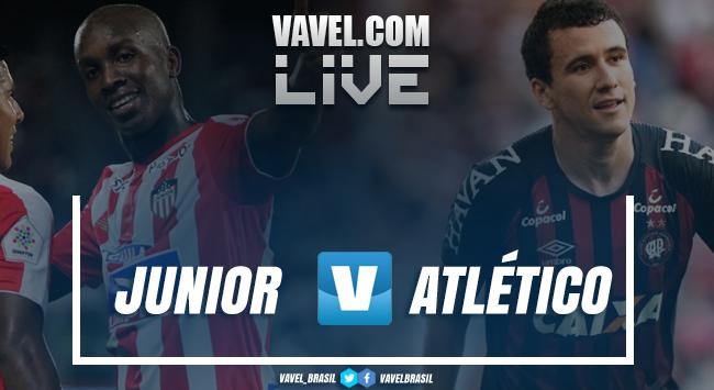 Resultado e gols Junior 1 x 1 Atlético-PR pela final da Sul-Americana 2018