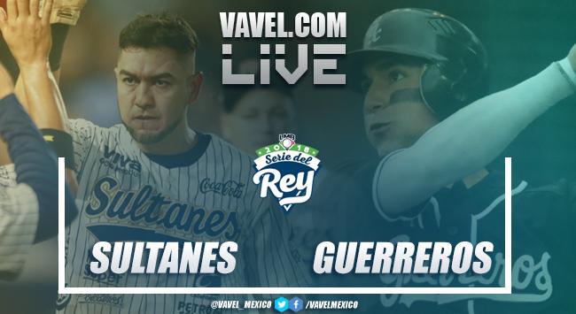 Resultado y carreras del Sultanes de Monterrey (3-2) Guerros de Oaxaca en Serie del Rey 2018