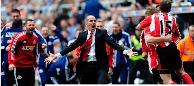 Sunderland vence derby e se aproxima do rival