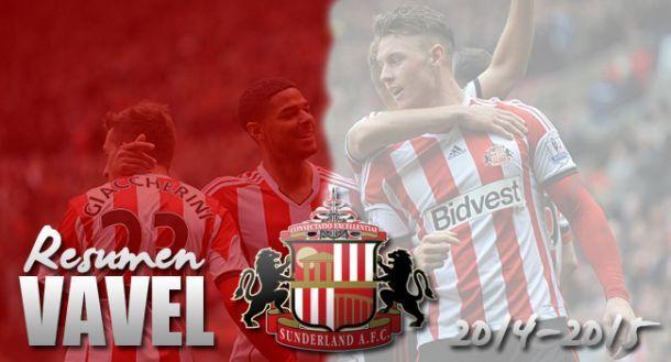 Sunderland 2014/15: y al final, se hizo la luz