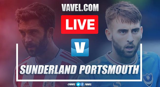 Sunderland vs Portsmouth: Live Stream TV Updates and Score Updates (2-1)