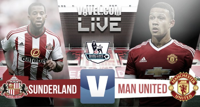 Score Sunderland 2-1 Manchester United in the Premier League 2016