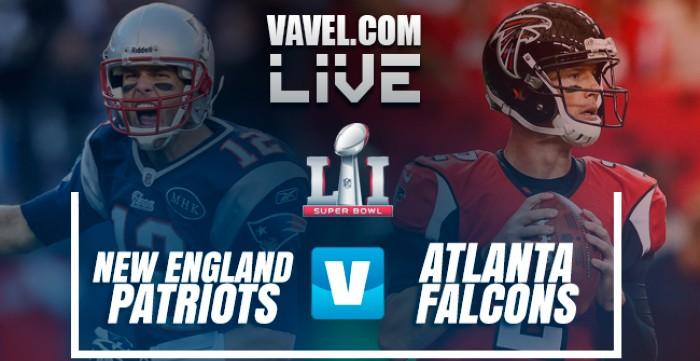 New England Patriots Vs Atlanta Falcons Live Score In Super