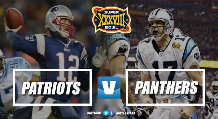 Super Bowl XXXVIII - Carolina Panthers vs New England Patriots