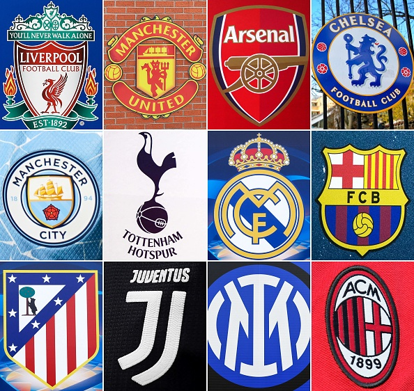 12 teams confirmed for European Super League