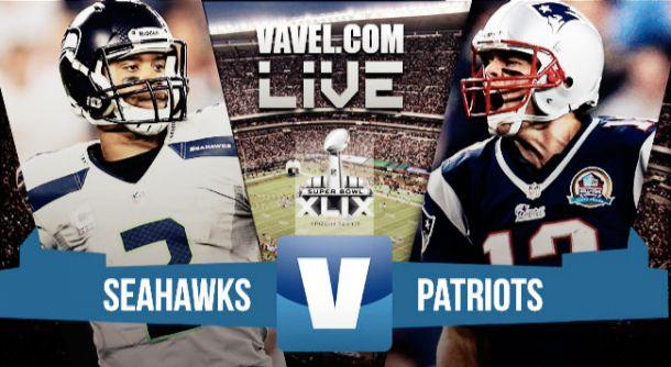Resultado Super BowlPatriots - Seahawks2015 (28-24)