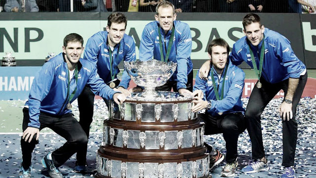 Argentina tiene todo listo para la Copa Davis