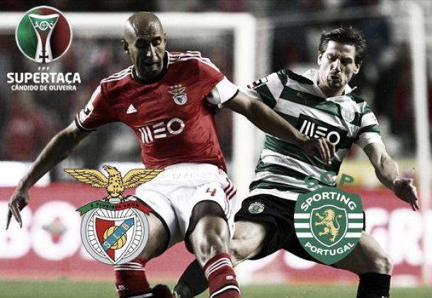 Benfica x Sporting no arranque de 2015/2016: Ritmos, caras e técnicos diferentes