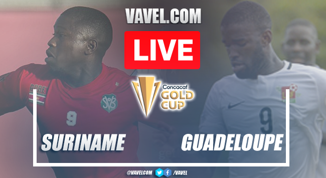 Goals and Highlights : Suriname 2-1 Guadeloupe in 2021 Gold Cup