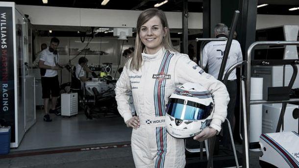 Susie Wolff estreia-se nos treinos livres no GP da Grã-Bretanha