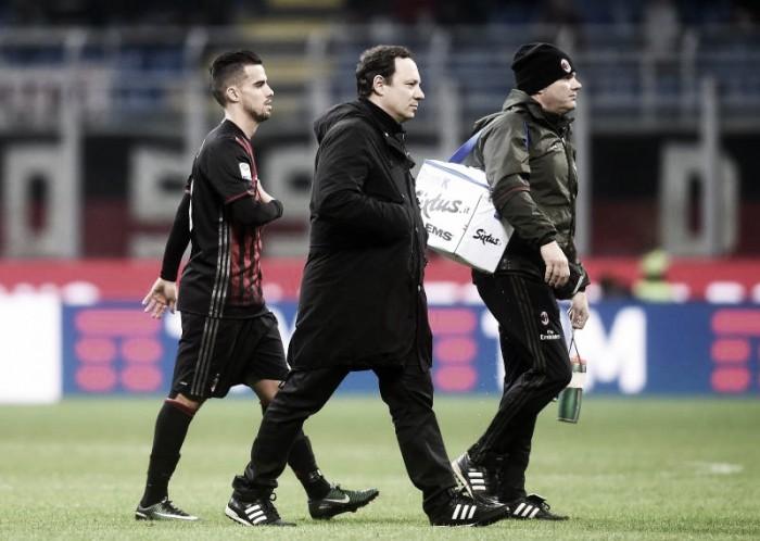 Milan, ricaduta per Suso: out almeno per altre due settimane