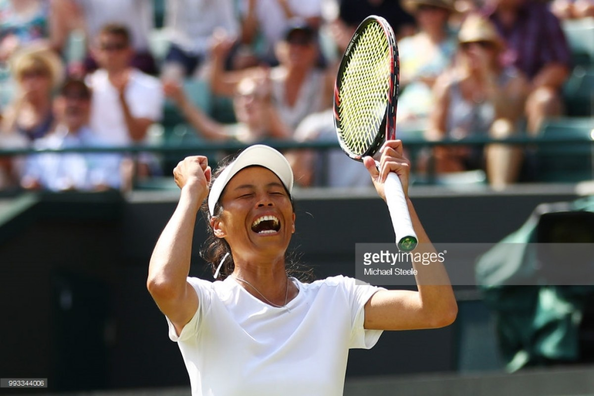 2018 Wimbledon: Su-wei Hsieh wins epic three-setter to shock Simona Halep
