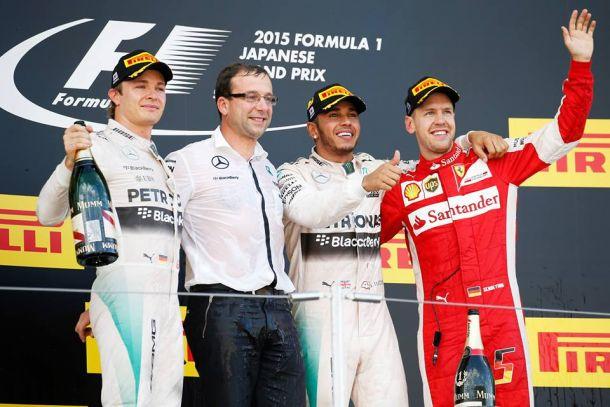 Hamilton felicissimo, Rosberg fa mea culpa, Vettel si accontenta: le dichiarazioni dei primi tre a Suzuka