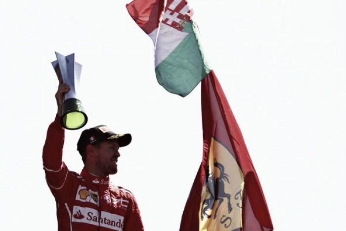 """Sebastian Vettel: """"Vamos a tener un gran final de temporada"""""""