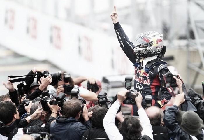 Previa histórica Gran Premio de Brasil 2012. Sebastian Vettel se convierte en el tricampeón más joven