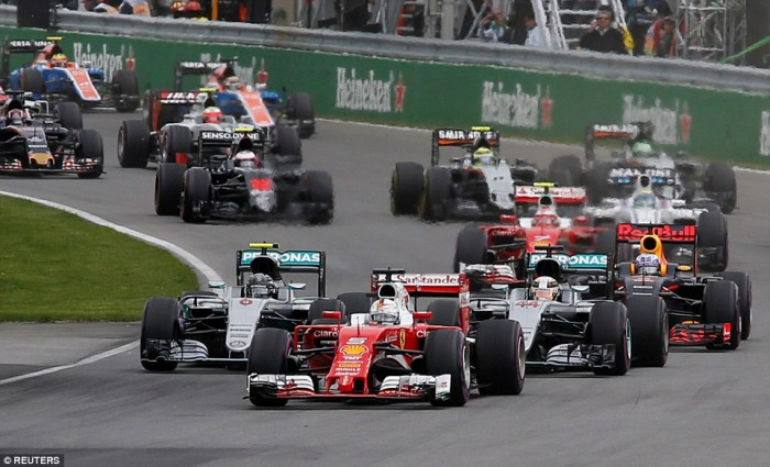 Hamilton's counter strategy halts Vettel in Canadian Grand Prix