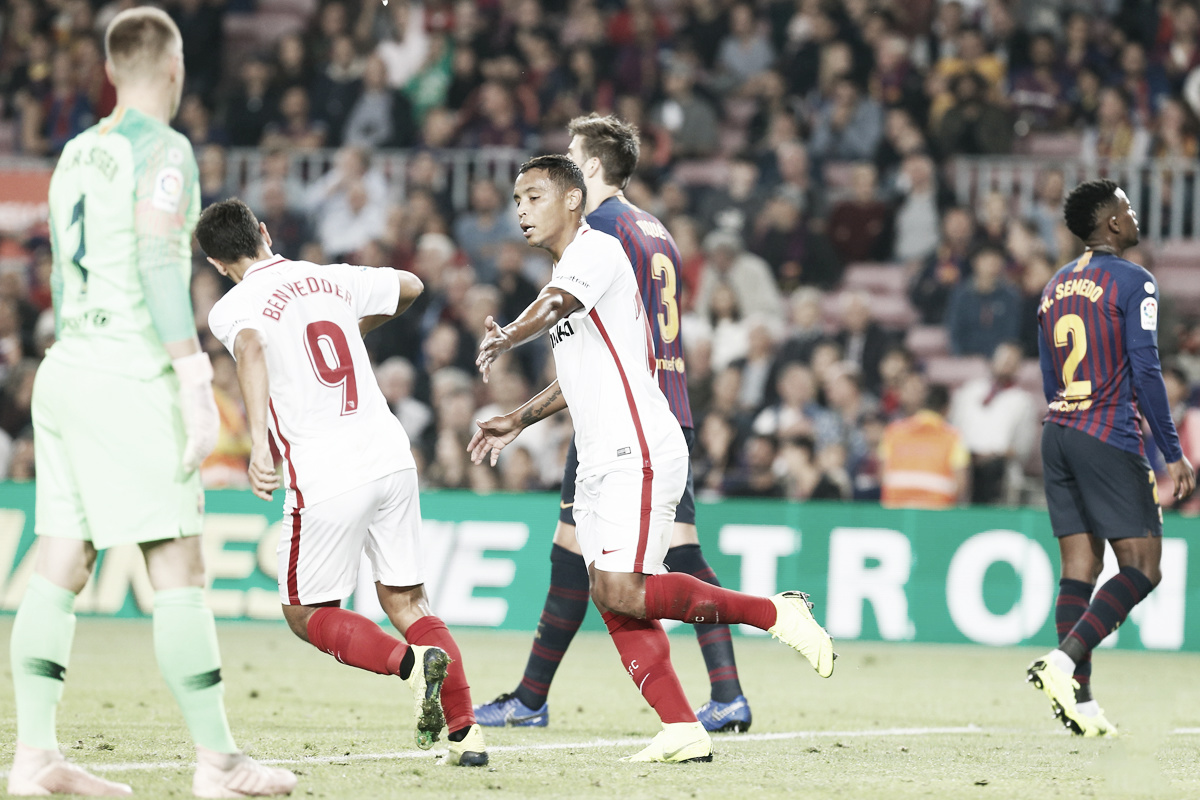 FC Barcelona vs Sevilla FC: Puntuaciones del Sevilla FC, jornada 9 de LaLiga Santander
