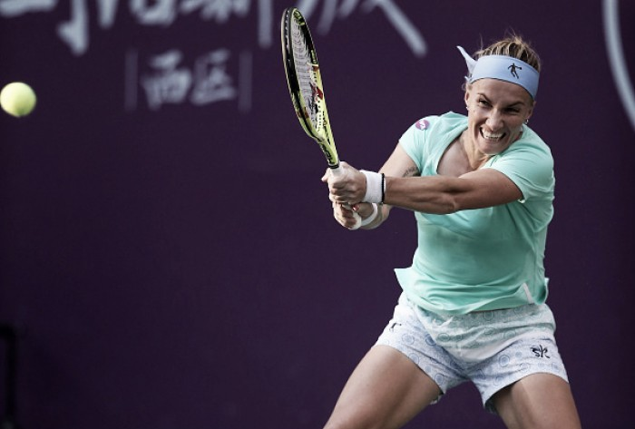 WTA Tianjin: Kuznetsova, Riske and Kovinic through the semifinals